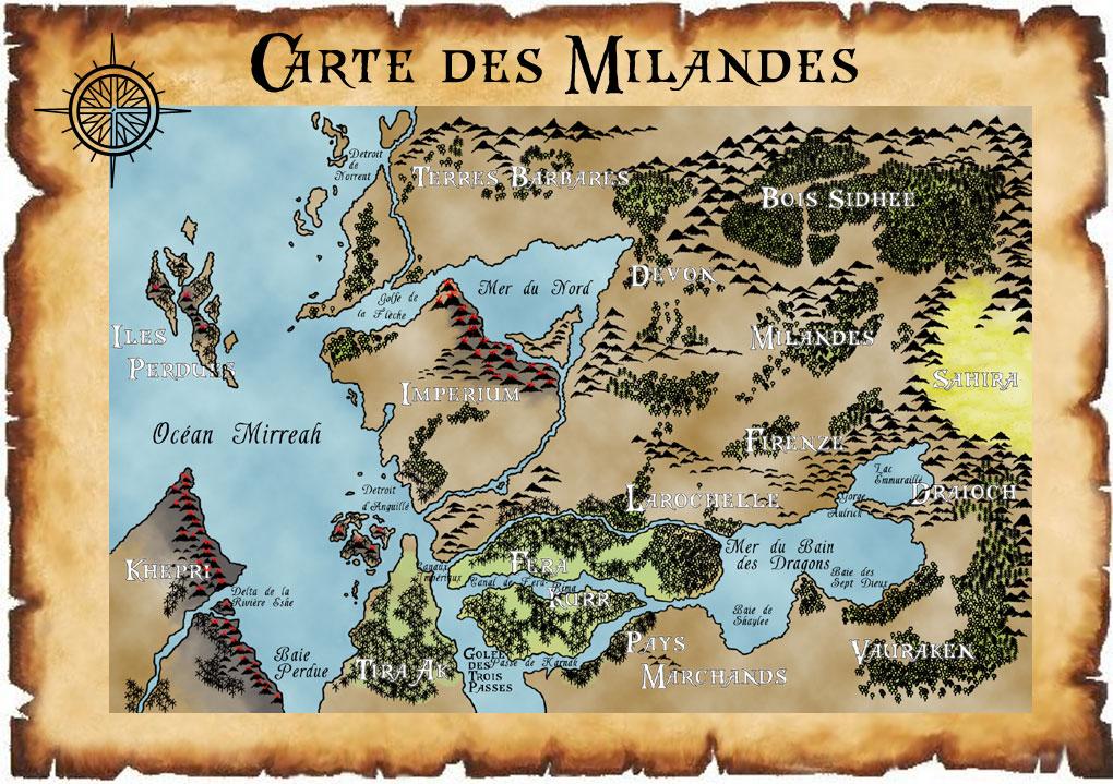 Carte des Milandes
