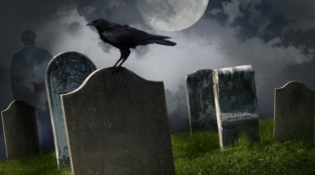 Graveyard tombstone 2